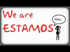 Spanish Verb Conjugation. The ESTAR song. LightSpeed Spanish.
