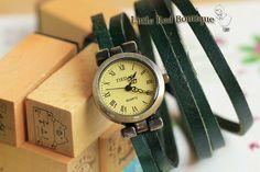Handmade Leather Wrap Watch Women Wrist Watch