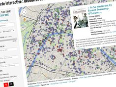 Can't get enough of Paris? This map shows over 600 films shot in Paris, street by street. That'll help you with pre-trip research & post-trip memories.