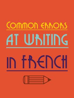 Want to improve your writing in French? Take a look of these 3 NEW examples below. I asked some French Learners via my newsletter and facebook to write an essay and I just corrected few more. http://www.talkinfrench.com/french-essays-correction-part-2/ Don't hesitate to share