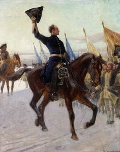 King Charles XII of Sweden at Narva, Great Northern War