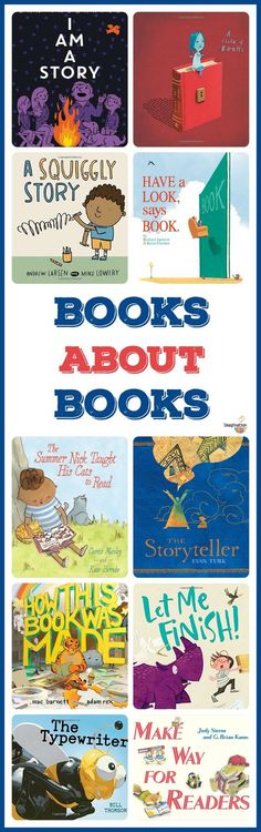 10 fantastic children's books about books and stories!