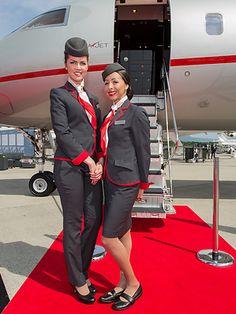 Aviation Geek Vista Jet  VIP Cabin Crew Recruitment  Private Jet