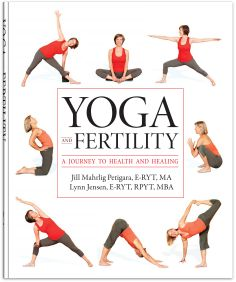 Lynn Jensen sometimes offers guest workshops on Yoga for Fertility at Source Yoga. This is her website.