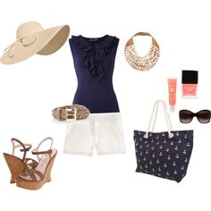 Summer ~ Sail Away, created by goldee-payton on Polyvore