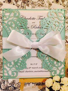 Tiffany Inspired Invite