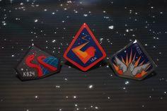 All Star Weekend Custom Pack - Badges.  LeBron 9, Kobe VII, KD IV.