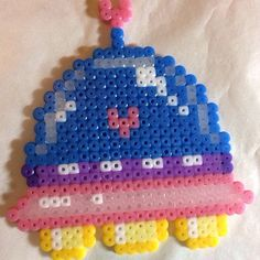 UFO perler beads by mikiyu0310