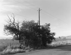 Robert Adams: Turning Point - Baker County, Oregon, 1999-2003, gelatin-silver print