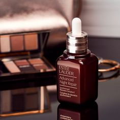 Unleash the power of night with Singapore's serum, Estée Lauder Advanced Night Repair at Visual Arts Centre. Beauty Tips And Secrets, Christmas Campaign, Estee Lauder, All Things Beauty, Sephora, Perfume Bottles, Skin Care, Cosmetics, Fashion Marketing