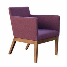 Harput Wood Lounge Armchair
