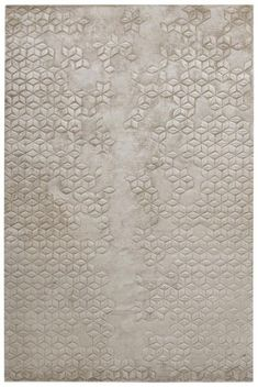 """"""" Helen Amy Murray Star Silk is hand knotted from silk, and the motif is then carved into the surface by hand. This rug is entirely handmade, from the spinning of the yarns to the weaving on the loom. It is unique, and has been crafted by weavers in..."""