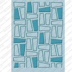 cuttlebug set 4 carpetas texturadoras fifty nifty - nuevas