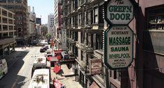 Urban street (money drop off) - San Francisco