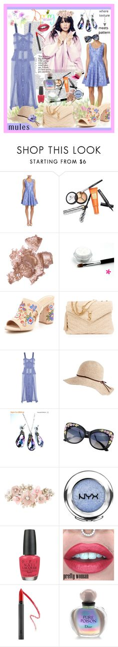"""""""Untitled #945"""" by belladonnasjoy ❤ liked on Polyvore featuring Taylor, Borghese, By Terry, ALDO, Yves Saint Laurent, Attico, Accessorize, NYX, OPI and Bite"""