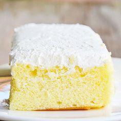 Einfacher Low Carb Vanille-Kuchen