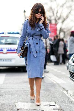 SNOB FASHION BLOG Mira Duma trench coat