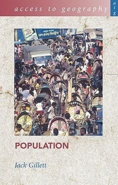 Provides an overview of demographic trends within the context of needs in such areas as transport, education and energy resources. This book provides commentary on issues such as fertility and population control; mortality and life expectancy; population structure and age dependency; population density and distribution; and, population migration.