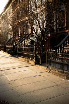 Walk a New York Street on an early  winter morning with a steaming cup of Starbucks ! How's that ? :)