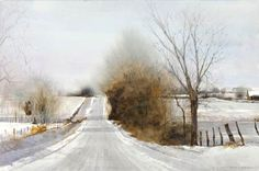 Andrew Wyeth Watercolor Paintings | Dean Mitchell Painting