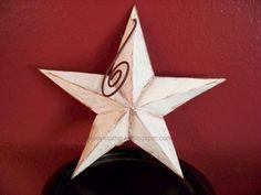 tin pie plate star