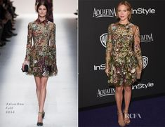 Brittany Snow In Valentino – 2015 InStyle and Warner Bros. Golden Globe Awards Post-Party