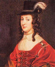 1647 Leonora Christina Ulfeldt by Gerrit van Honthorst