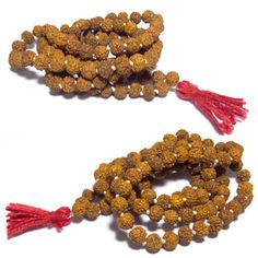 Rudraksha mala(3mm) wearer has the benefit of good health, peace of mind, calm's the self and helps in realizing positivity.