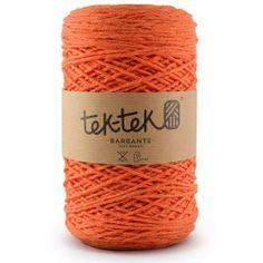 TEK-TEK® BARBANTE | Orange Yarn #tektekyarn #barbante #tek-tek #yarn www.tektek.pt