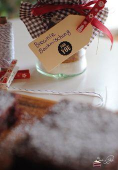 Christmas Cookie Club: 8. Türchen - DIY Browniebackmischung von Sweet Pie