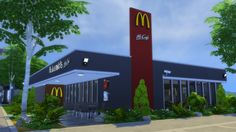 Sims 4 Updates: RomerJon17 Productions - Houses and Lots, Community Lots : McDonald's Restaurant #2, Custom Content Download!