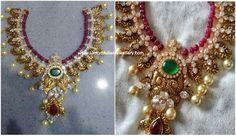 Ruby String Nakshi Necklace
