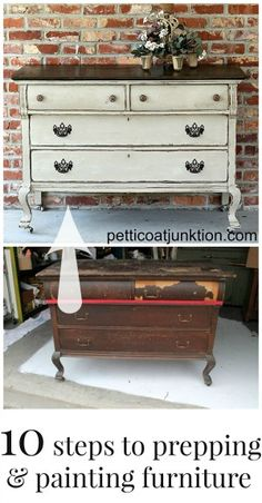Painted Furniture Photos Linked to Tutorials, Petticoat Junktion - Petticoat Junktion. Many links to painted furniture and upcycled junk items