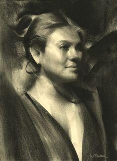 Nathan Fowkes Art: Charcoal Portrait!