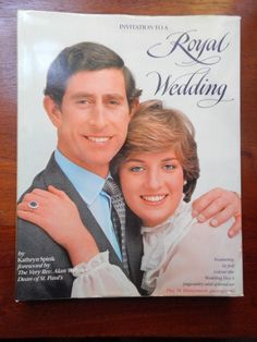 Hey, I found this really awesome Etsy listing at https://www.etsy.com/listing/237115840/invitation-to-a-royal-wedding-book