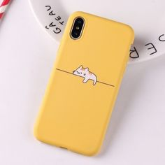 Cute Hiding Cat Silicone Phone Case - Kuru Store