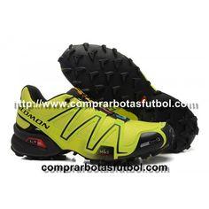 sale retailer a0610 d7b19 Baratas Zapatillas Salomon Speedcross 3 CS Hombre Amarillo Negro