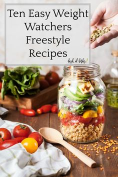 If you are new to Weight Watchers, try these ten easy Weight Watchers Freestyle recipes to help you get a great start to your new lifestyle. You won't regret getting your life back on track with these easy to make recipes that are all 5 SmartPoints or less.