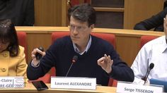 Impact de l'Intelligence Artificielle sur l'économie - Laurent Alexandre au Senat français