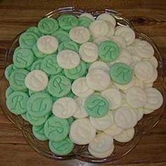 Cream cheese mints: had these at a wedding reception tonight and ...