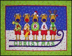 Hairy Christmas Pattern