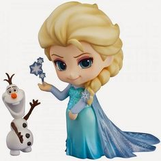 Figurine La reine des neiges : Elsa 475 - Good Smile Nendoroid