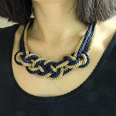 Best Nautical Rope Necklace Products on Wanelo