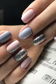 Decorated nails: this is the manicure that you want this herb .- Verzierte Nägel: Dies ist die Maniküre, die Sie diesen Herbst tragen werden … Decorated nails: this is the manicure you& wear this fall … – – - Cute Acrylic Nails, Gel Nails, Nail Polish, Nail Nail, Manicure E Pedicure, Fall Manicure, Manicure Ideas, Nail Ideas, Fall Nail Art
