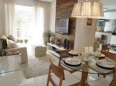 Decoração sala de estar apartamento pequeno