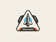 Space Shuttle Discovery Patch by Austin Remer #Design Popular #Dribbble #shots