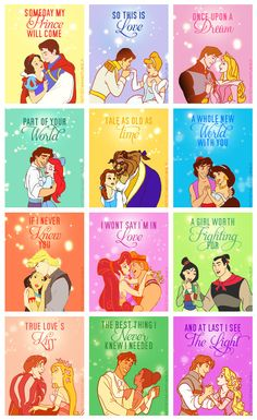 princess printables along with 33 Disney Crafts Ideas and Recipes for prepping for your trip to Disney World or Disneyland, or just wishing you were back there! Disney Pixar, Walt Disney, Disney E Dreamworks, Disney Amor, Disney Couples, Disney Magic, Disney Characters, Funny Disney, Disney Theme
