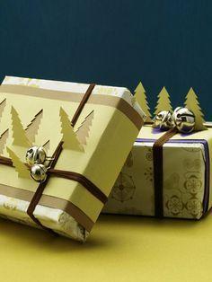 Ide til 3D-gaveindpakning. Den skal vist ligge øverst under juletræet ;-)
