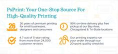 PsPrint offers top-quality, dependable online printing services to your business or company. With our satisfaction guarantee, try us now. Online Printing Services, Self, Business, Google Chrome, Promotion, Top, Store, Business Illustration, Crop Shirt