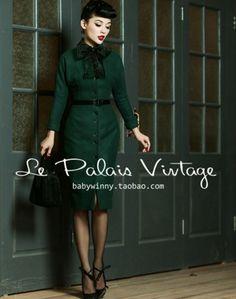 Wiele vintage-fanek na pewno natrafiło na Le Palais Vintage, czy to na taobao, czy na aliexpress. Dla niezorientowanych: to chiński butik z ...
